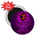 Happy Ghost Halloween 2.25  Magnets (100 pack)