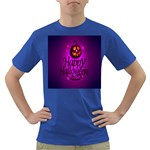 Happy Ghost Halloween Dark T-Shirt