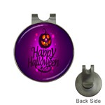 Happy Ghost Halloween Hat Clips with Golf Markers