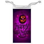 Happy Ghost Halloween Jewelry Bag