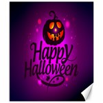 Happy Ghost Halloween Canvas 8  x 10