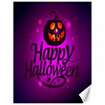 Happy Ghost Halloween Canvas 12  x 16