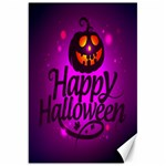 Happy Ghost Halloween Canvas 20  x 30