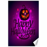 Happy Ghost Halloween Canvas 24  x 36