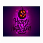 Happy Ghost Halloween Small Glasses Cloth (2-Side)