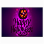 Happy Ghost Halloween Large Glasses Cloth
