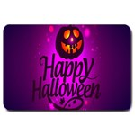 Happy Ghost Halloween Large Doormat