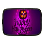 Happy Ghost Halloween Netbook Case (Medium)