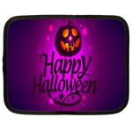 Happy Ghost Halloween Netbook Case (Large)