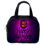 Happy Ghost Halloween Classic Handbags (One Side)