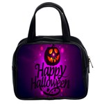 Happy Ghost Halloween Classic Handbags (2 Sides)