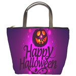 Happy Ghost Halloween Bucket Bags