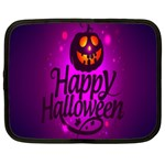Happy Ghost Halloween Netbook Case (XXL)