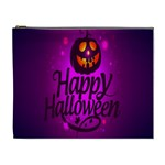 Happy Ghost Halloween Cosmetic Bag (XL)