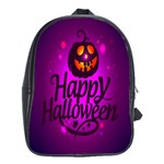 Happy Ghost Halloween School Bag (Large)
