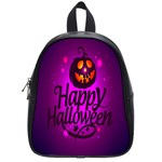 Happy Ghost Halloween School Bag (Small)