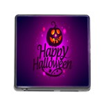 Happy Ghost Halloween Memory Card Reader (Square)