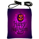 Happy Ghost Halloween Shoulder Sling Bags
