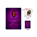 Happy Ghost Halloween Playing Cards (Mini)
