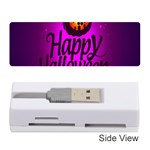 Happy Ghost Halloween Memory Card Reader (Stick)