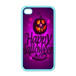 Happy Ghost Halloween Apple iPhone 4 Case (Color)
