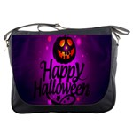 Happy Ghost Halloween Messenger Bags