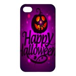 Happy Ghost Halloween Apple iPhone 4/4S Premium Hardshell Case