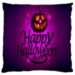 Happy Ghost Halloween Large Cushion Case (One Side)