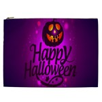 Happy Ghost Halloween Cosmetic Bag (XXL)