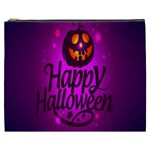 Happy Ghost Halloween Cosmetic Bag (XXXL)
