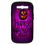 Happy Ghost Halloween Samsung Galaxy S III Hardshell Case (PC+Silicone)