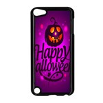 Happy Ghost Halloween Apple iPod Touch 5 Case (Black)