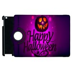 Happy Ghost Halloween Apple iPad 3/4 Flip 360 Case
