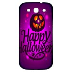 Happy Ghost Halloween Samsung Galaxy S3 S III Classic Hardshell Back Case