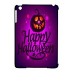 Happy Ghost Halloween Apple iPad Mini Hardshell Case (Compatible with Smart Cover)