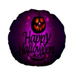 Happy Ghost Halloween Standard 15  Premium Round Cushions