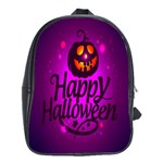 Happy Ghost Halloween School Bag (XL)