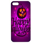 Happy Ghost Halloween Apple iPhone 5 Hardshell Case with Stand