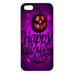 Happy Ghost Halloween Apple iPhone 5 Premium Hardshell Case