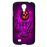 Happy Ghost Halloween Samsung Galaxy S4 I9500/ I9505 Case (Black)