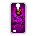 Happy Ghost Halloween Samsung GALAXY S4 I9500/ I9505 Case (White)