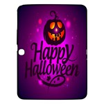 Happy Ghost Halloween Samsung Galaxy Tab 3 (10.1 ) P5200 Hardshell Case