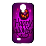 Happy Ghost Halloween Samsung Galaxy S4 Classic Hardshell Case (PC+Silicone)