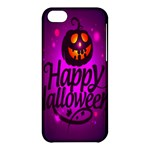 Happy Ghost Halloween Apple iPhone 5C Hardshell Case