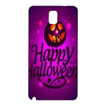 Happy Ghost Halloween Samsung Galaxy Note 3 N9005 Hardshell Back Case