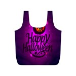 Happy Ghost Halloween Full Print Recycle Bags (S)