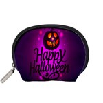 Happy Ghost Halloween Accessory Pouches (Small)