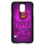 Happy Ghost Halloween Samsung Galaxy S5 Case (Black)