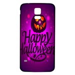 Happy Ghost Halloween Samsung Galaxy S5 Back Case (White)