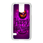 Happy Ghost Halloween Samsung Galaxy S5 Case (White)